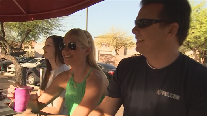Groups of up to 14 people can book for private parties or individuals can book for pub crawls. (Source: 3TV/CBS 5)