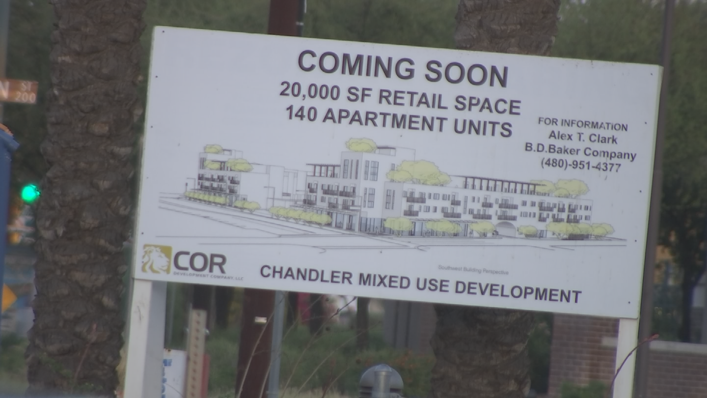 The construction timeline is aggressive with a planned completion of December 2017 or early 2018. (Source: 3TV/CBS 5)