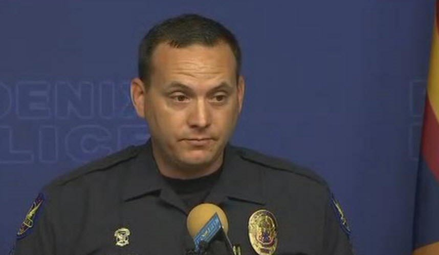 """The small child, while in the care of his parents, lay shot and lay dying in his own home, while the scene was scrubbed clean,"" said Phoenix Police Sgt. Vince Lewis. (Source: 3TV/CBS 5)"