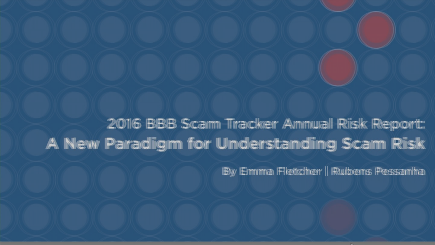 The Better Business Bureau released a new report on scams. (Source: 3TV/CBS 5)