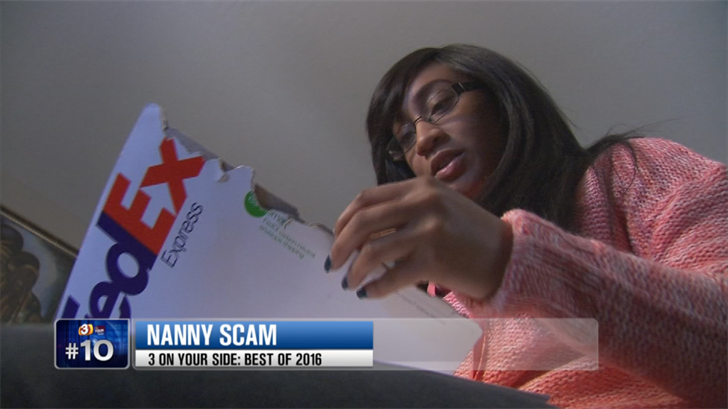 According to the report, men are more likely to be scammed than women and then millennials 18 to 24 have lost money more than the elderly in scams. (Source: 3TV/CBS 5)