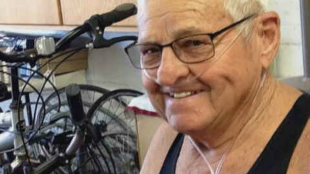 Jack Hobbs started Bikes For Books. He died in October. (Source: 3TV/CBS 5)