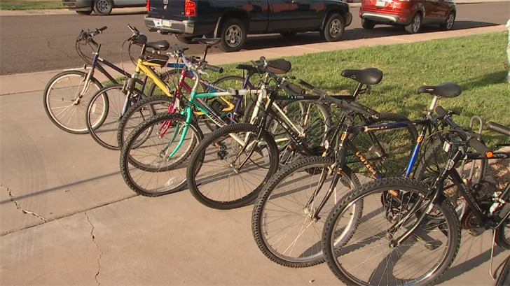 The next school delivery is April 21, when another half dozen bikes will go out to kids. (Source: 3TV/CBS 5)