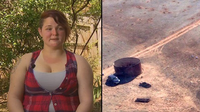 Amber VanHecke survived being stranded for five days. (Source: 3TV/CBS 5)