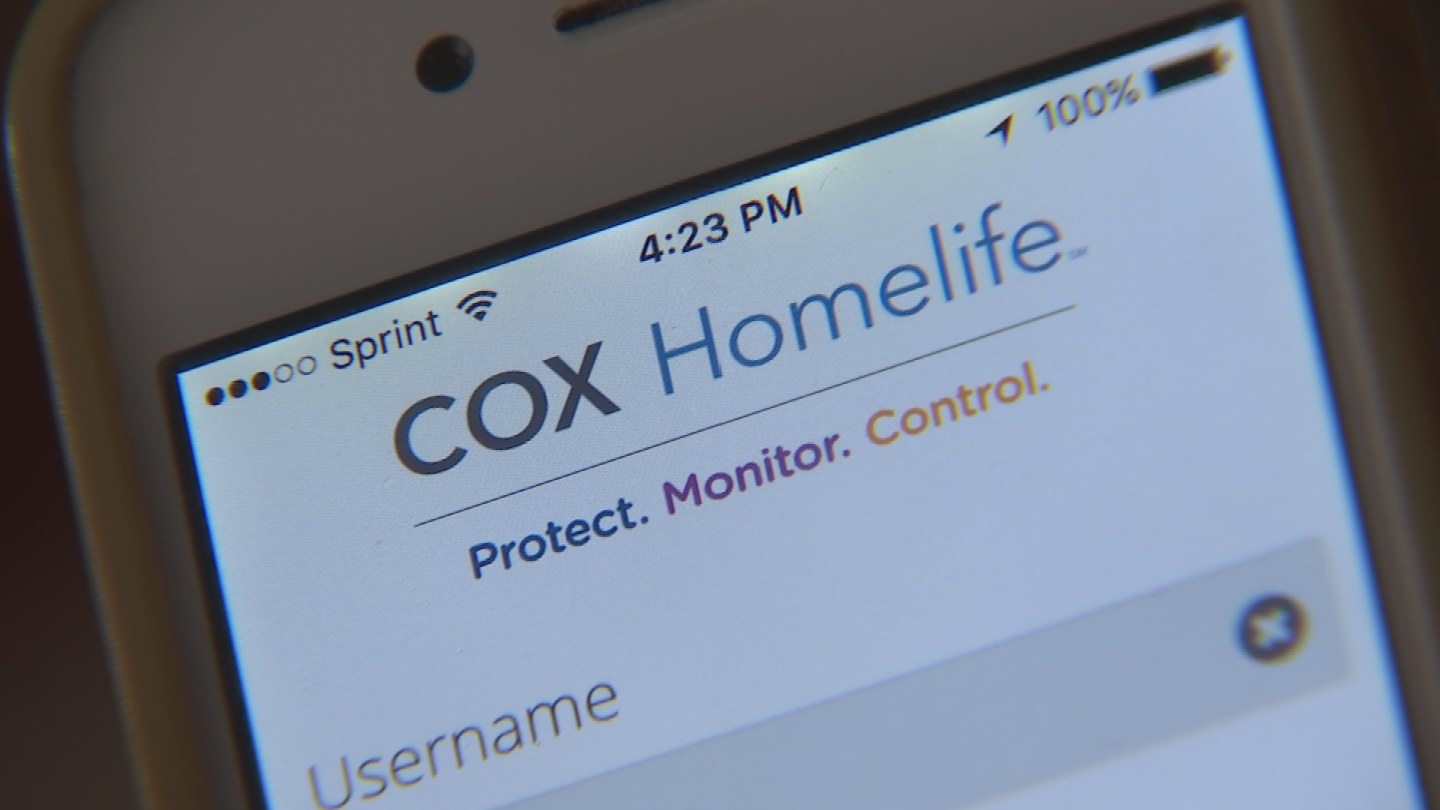 Allen Harrison's phone is too old for Cox's HomeLife Security. (Source: 3TV/CBS 5)
