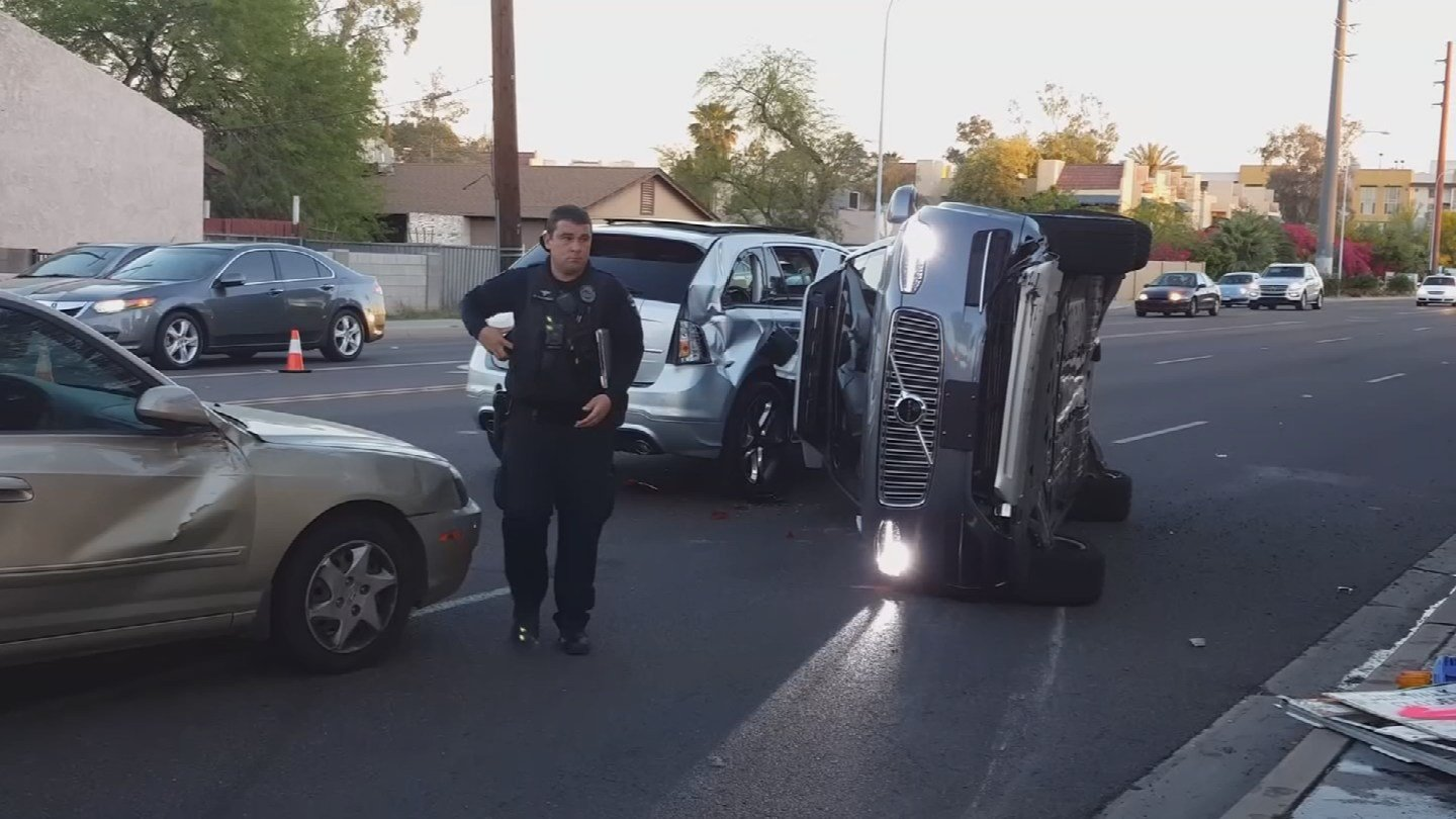 Uber self-driving vehicles are back on the road in Arizona following a suspension due to a crash in Tempe. 25 March 2017 [Source: CBS News]