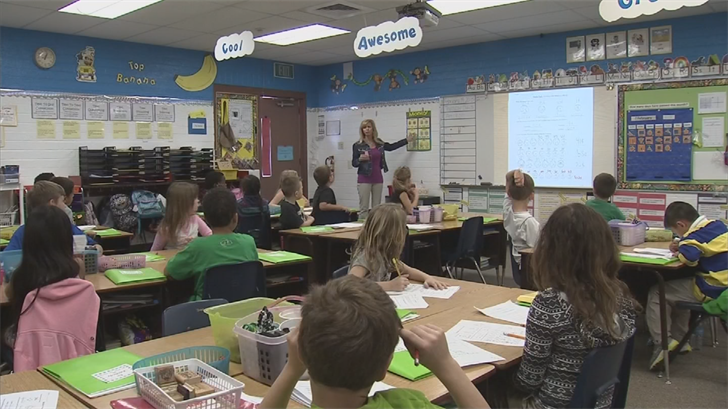 A one percent increase gives teachers an extra $454 a year or $8.73 a week. (Source: 3TV/CBS 5)