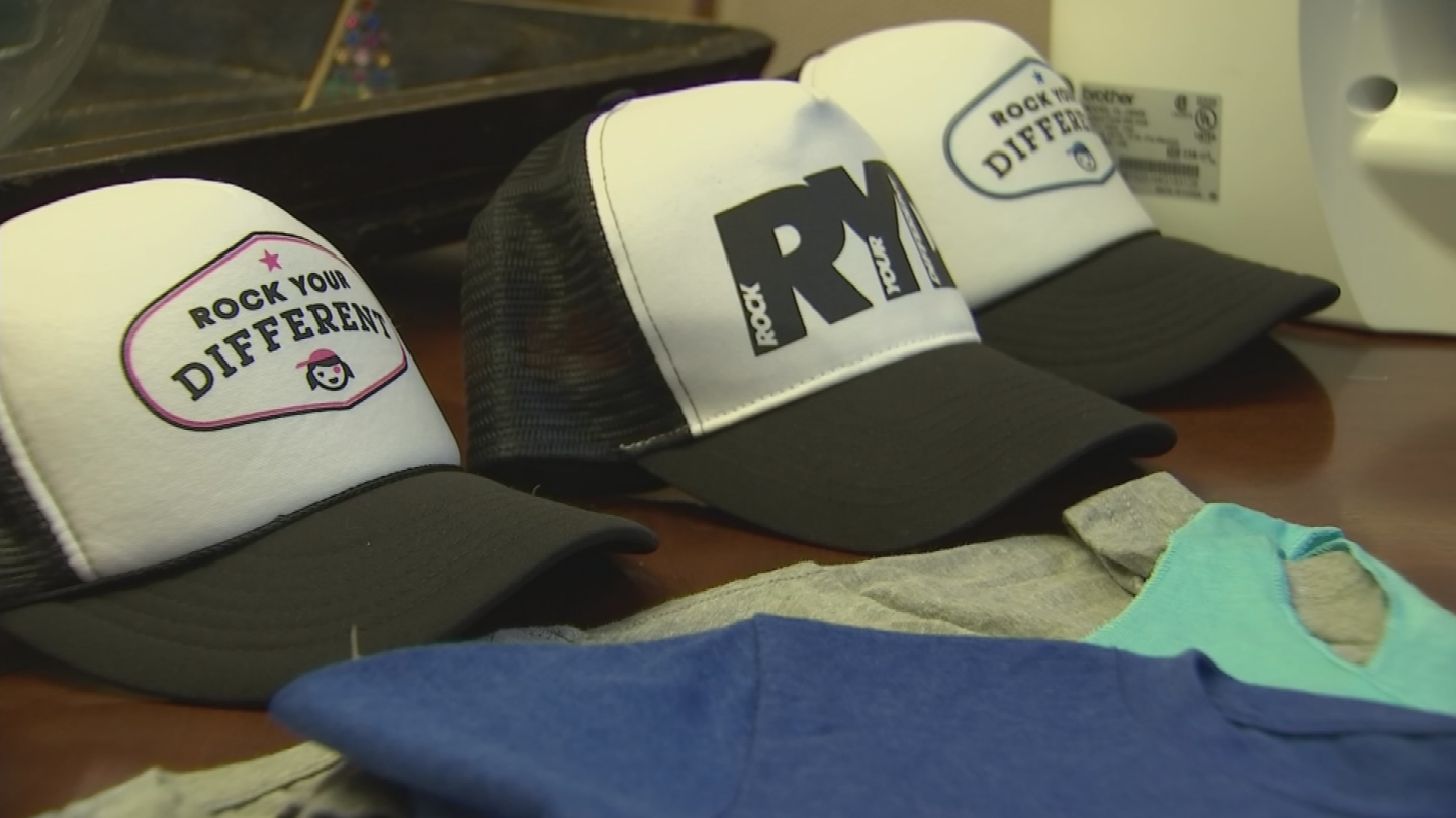 Krienert hopes the clothing line will inspire others. (Source: 3TV/CBS 5)
