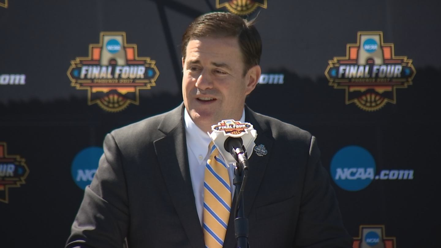 Gov. Ducey said he believes human activity is a contributing factor in climate change. (Source: 3TV/CBS 5)