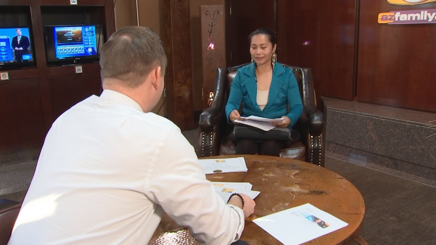 Paulina Buhagiar found out her certification fromPara Health Professionals, Inc. was worth nothing during a job interview in 2015. (Source: 3TV/CBS 5)