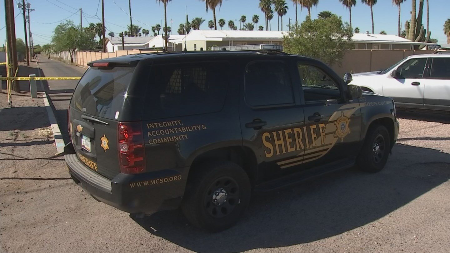 MCSO deputies on scene at shooting in Mesa (Source: 3TV/CBS 5)