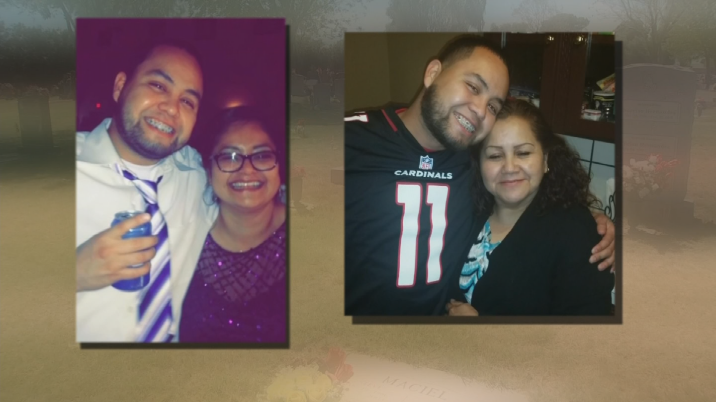 Noel Fuentes was one of the 32 recent deaths that were connected to fake Oxy pills. (Source: 3TV/CBS 5)