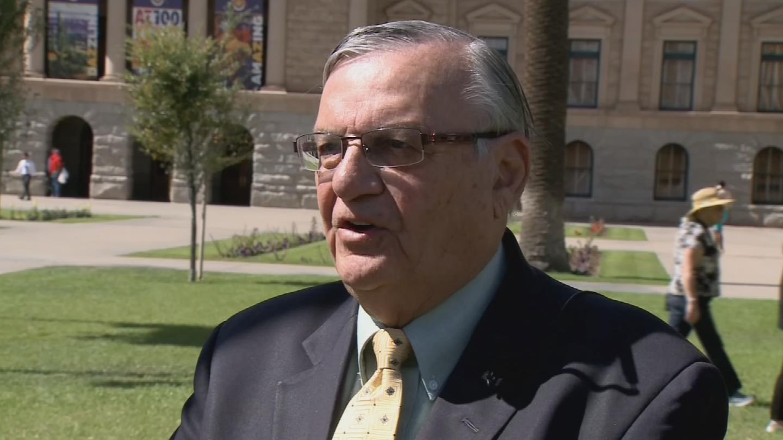 Former Maricopa County Sheriff Joe Arpaio (Source: 3TV/CBS 5 file photo)