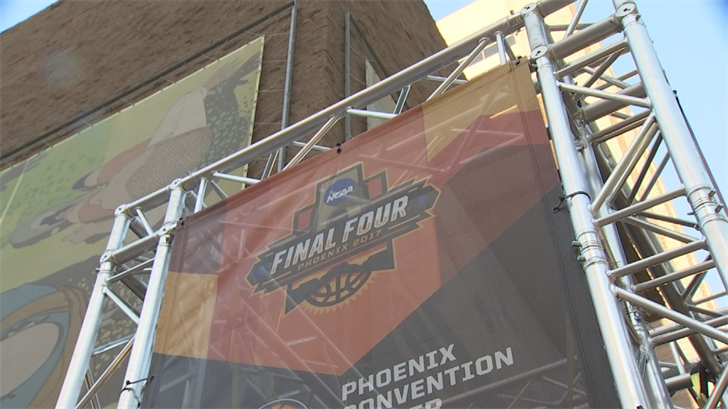 Final Four weekend is expected to bring in $300 million to the local economy. (Source: 3TV/CBS 5)