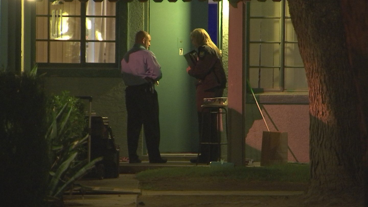 Police are investigating a suspicious death in a home in Phoenix. (Source: 3TV/CBS 5)