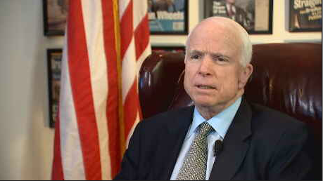 Senator John McCain (3TV/CBS 5 file photo)
