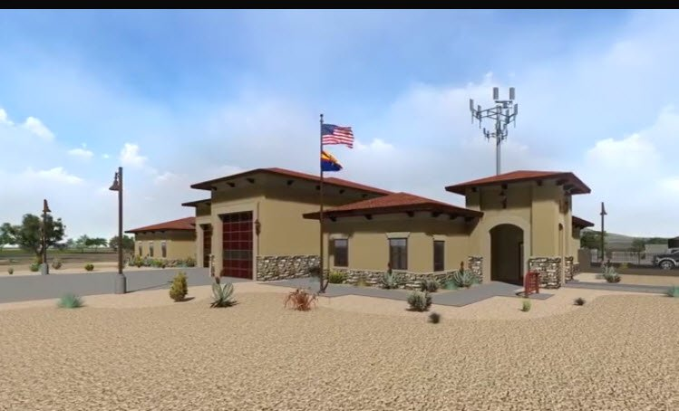 Rendering of new station to be built (Source: Facebook)