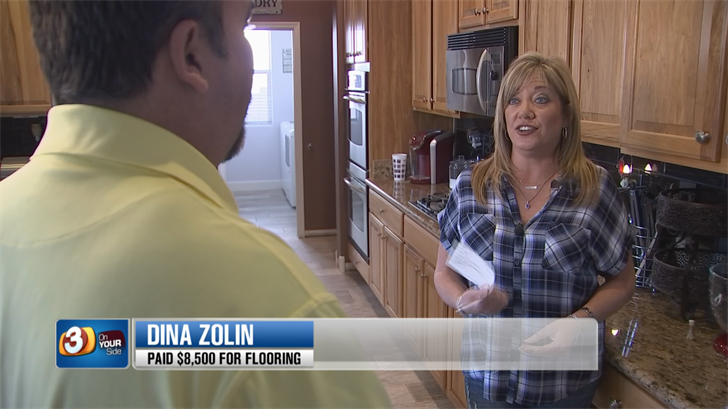 3 On Your Side was able to get Dina Zolin $6,500 from an unlicensed contractor. (Source: 3TV/CBS 5)