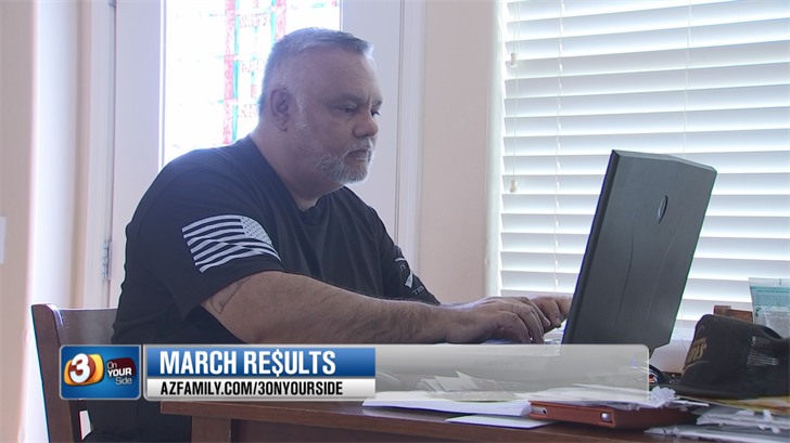 Ed Barrera and his wife double paid Kohl's and 3 On Your Side helped them get their money back. (Source: 3TV/CBS 5)