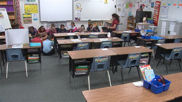 Her students were all given access to thousands of books online. (Source: 3TV/CBS 5)