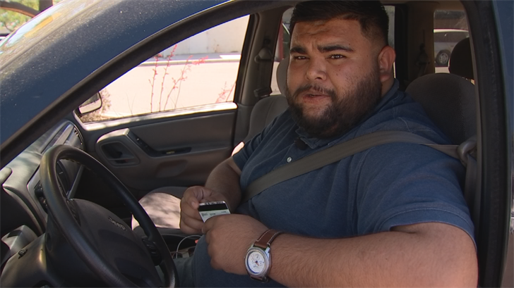Ricardo Zamudlo, a so-called dreamer, said he doesn't know what he would do without his driver's license. (Source: 3TV/CBS 5)