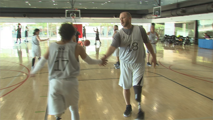 A basketball team compromised of cancer fighters and survivors will be hitting the hardwood on Friday morning. (Source: 3TV/CBS 5)