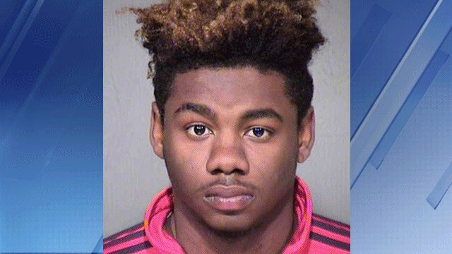 Booking photo for Nathaniel William Thomas (Source: Maricopa County Sheriff's Office)