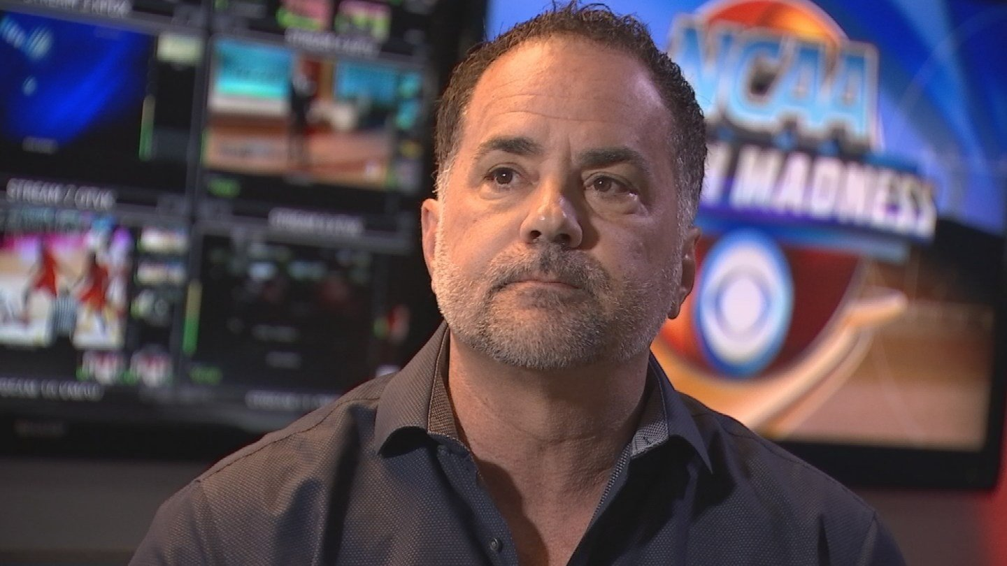 "'The downfall was basically greed,"" Gagliano said. 'Greed kills.' (Source: 3TV/CBS 5)"