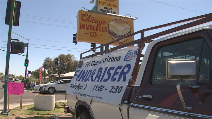 A fundraiser was held for the 100 club at Chicago Hamburger Company. (Source: 3TV/CBS 5)