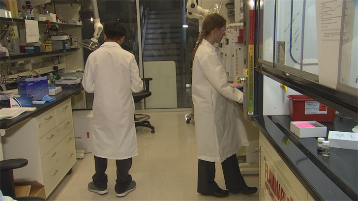 The Center for Environmental Security at ASU's Biodesign Institute is home to the largest waste repository in the U.S. (Source: 3TV/CBS 5)