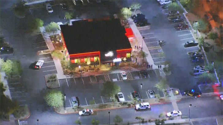 The shooting reportedly happen at the Chili's near the I-17 & Carefree Highway. (Source: 3TV/CBS 5)