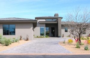 Cable network HGTV has decked out a Scottsdale home with new technology as part of a sweepstakes contest. (Source: Jessica Clark/Cronkite News)