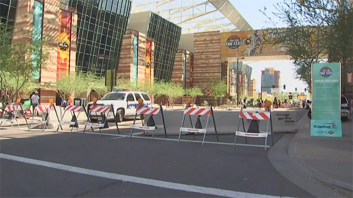 According to Phoenix police, the past few days have gone better than expected for the Final Four festivities. (Source: 3TV/CBS 5)