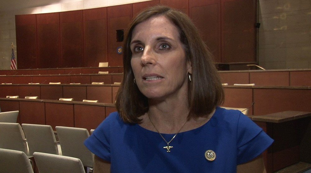 "Rep. Martha McSally, R-Tucson, said a working group she chairs on women in the workforce is trying to find ""the real root cause"" of the gender pay disparity, whether that's discrimination or other workplace barriers. (Source: Anthony Marroquin/Cronkite)"