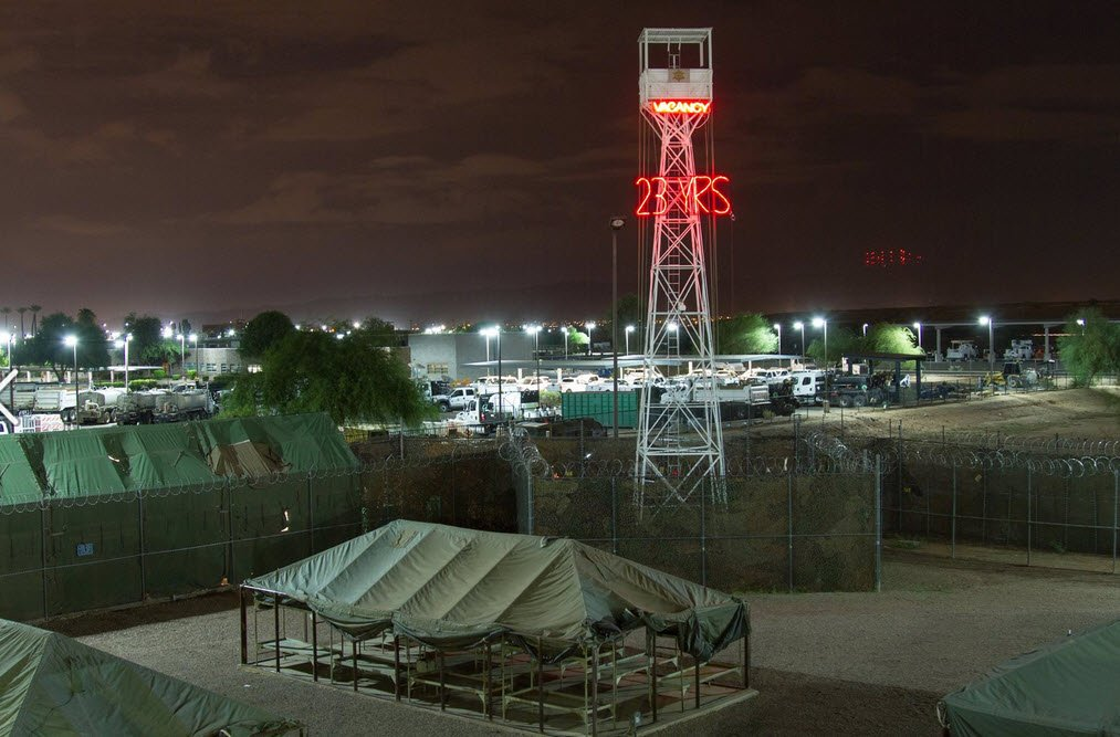Tent City (Source: Maricopa County Sheriff's Office)