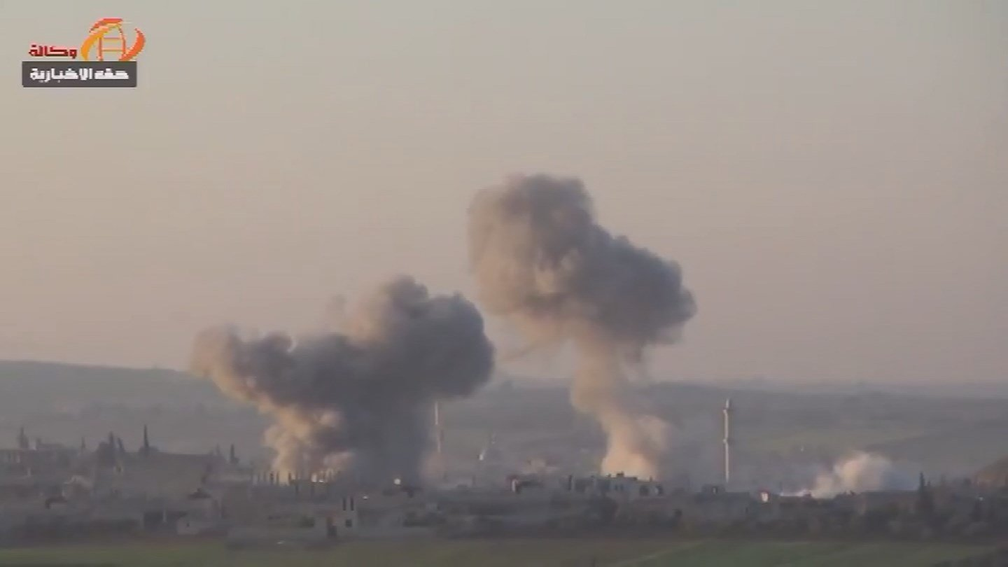 A suspected chemical attack has left around 60 people dead and hundreds hurt in Syria. (Source: 3TV/CBS 5)
