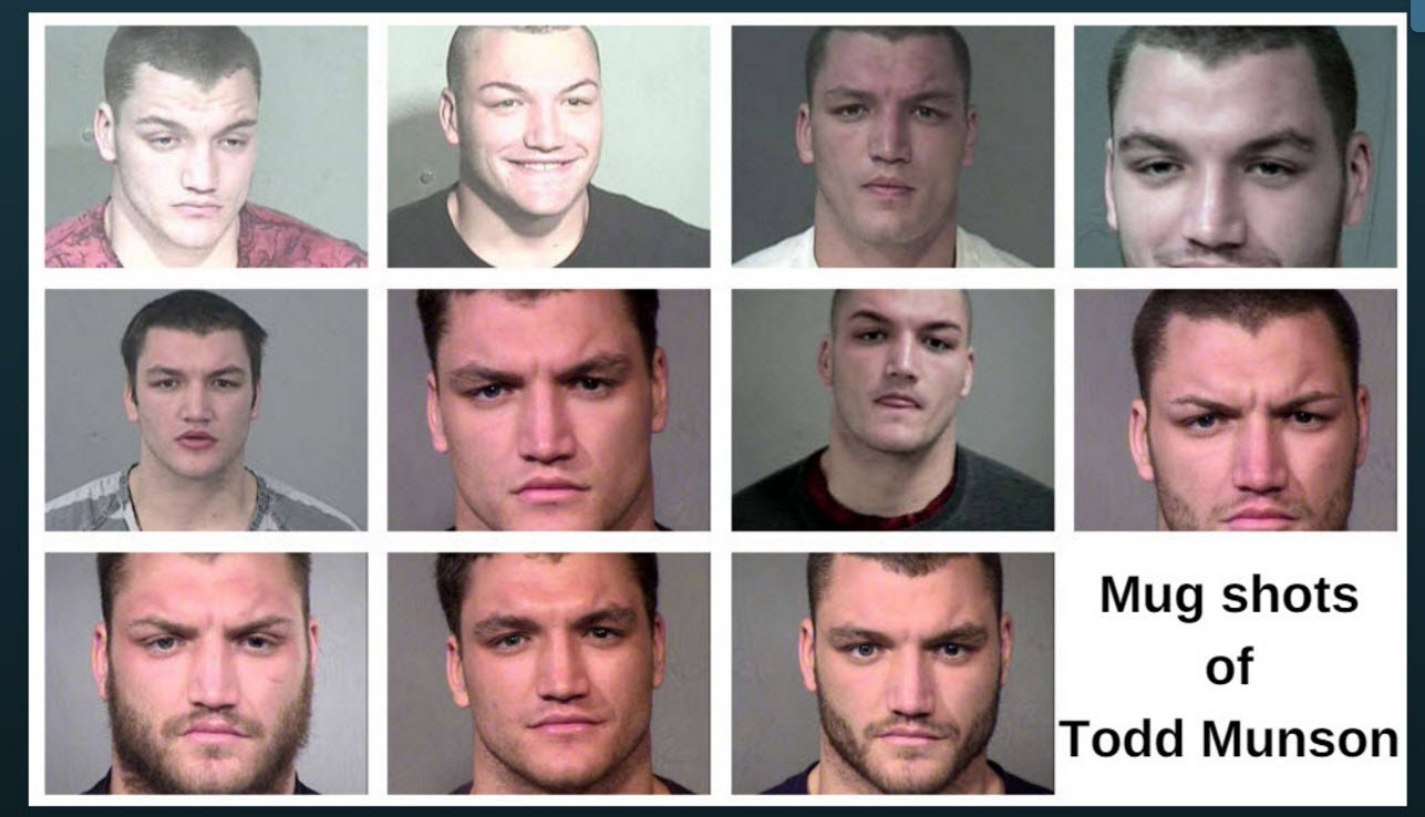 Mug shots of Todd Munson (Source: Maricopa County Sheriff's Office)