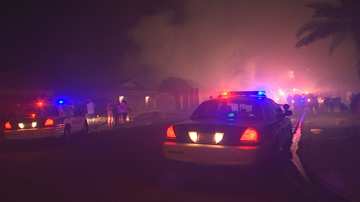 Glendale Police said on Thursday the house fire was not suspicious. (Source: 3TV/CBS 5)