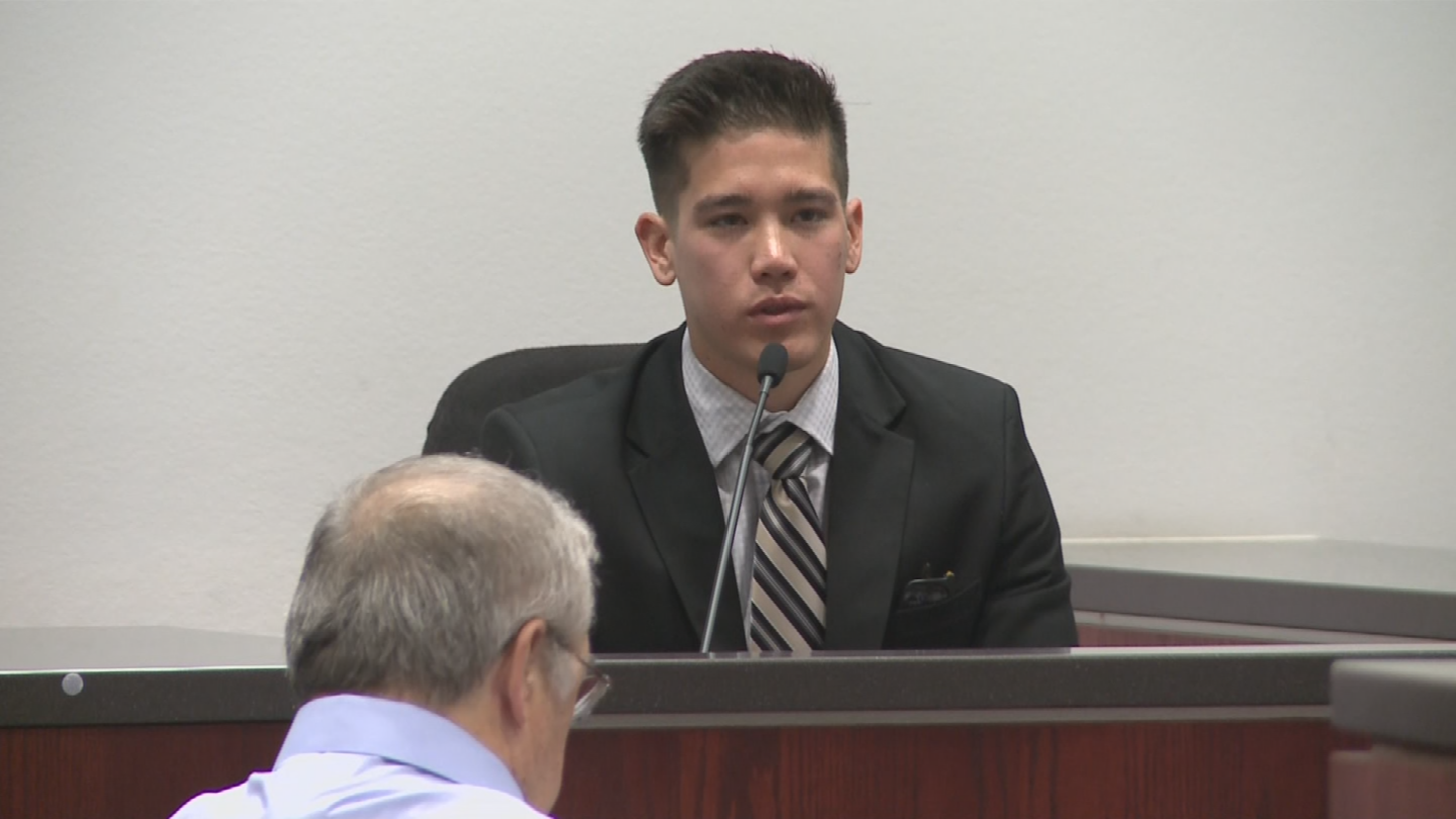 Nick Piring was shot in 2015 and testified on Thursday. (Source: 3TV/CBS 5)