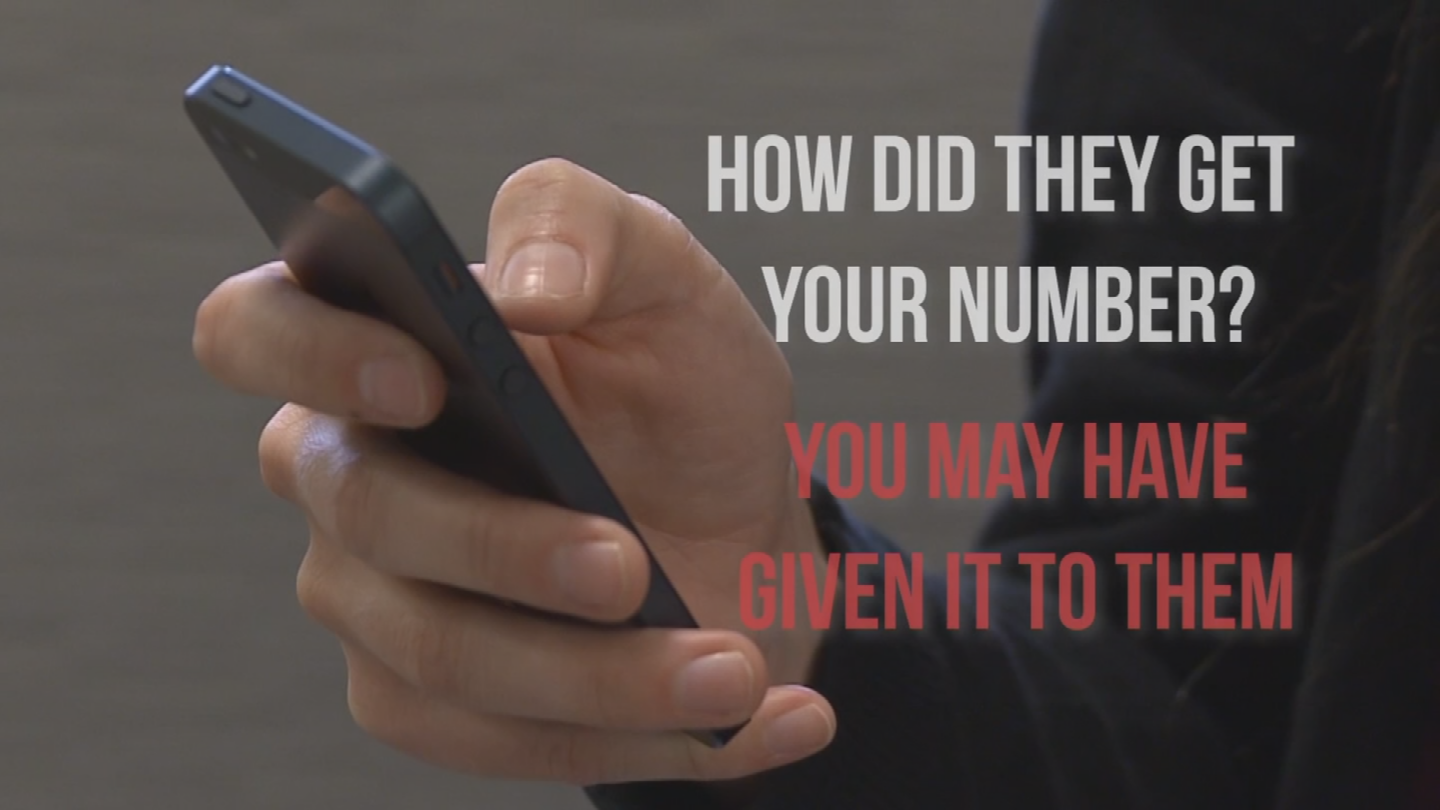 There are some apps that can help with getting spam text messages. (Source: 3TV/CBS 5)