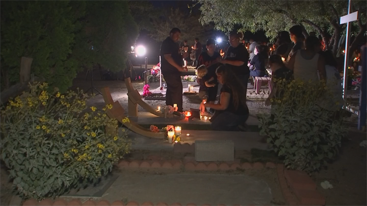 Vigil attendees hope is to turn this dark day into something positive by coming together and showing that hate will not be tolerated. (Source: 3TV/CBS 5)