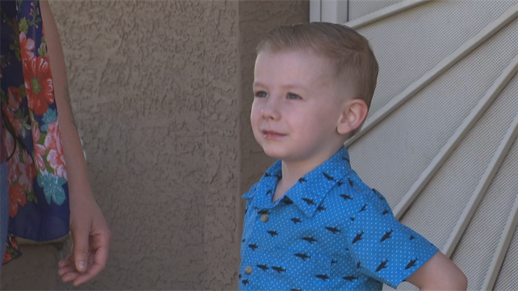 The district said the boy was with an adult at all times. (Source: 3TV/CBS 5)