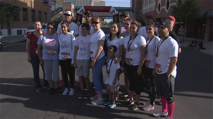 A record number of people took part in the D-backs' Race against Cancer. (Source: 3TV/CBS 5)