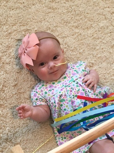 Five-month-old June Rogers needs heart surgery later this month. (Source: 3TV/CBS 5)
