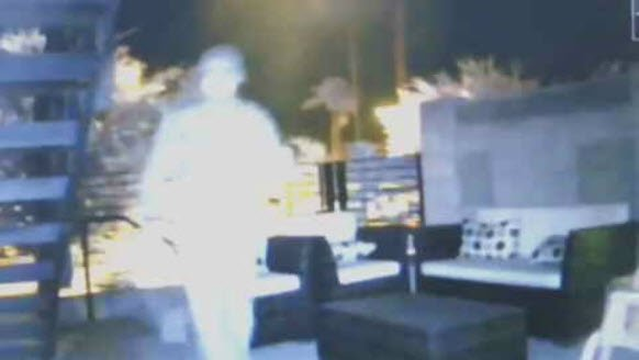 A stranger stole Lee Komer's security camera last month. (Source: 3TV/CBS 5)
