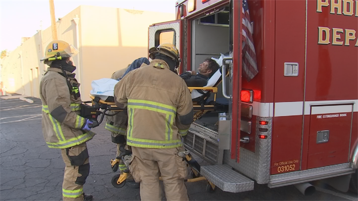 One bee victim was driven to the hospital. (Source: 3TV/CBS 5)