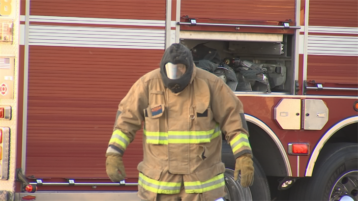 A firefighter was also taken to the hospital as a precaution. (Source: 3TV/CBS 5)