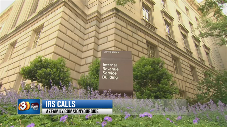 It may sound like a scam but real debt collectors working with the IRS will be calling people who owe back taxes. (Source: 3TV/CBS 5)