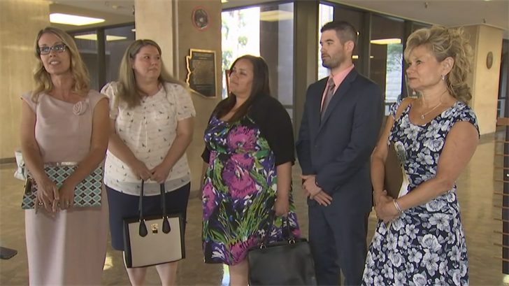 The past six Arizona Teachers of the Year delivered Ducey a scathing letter criticizing him for what they see as his failure on K-12 education. (Source: 3TV/CBS 5)