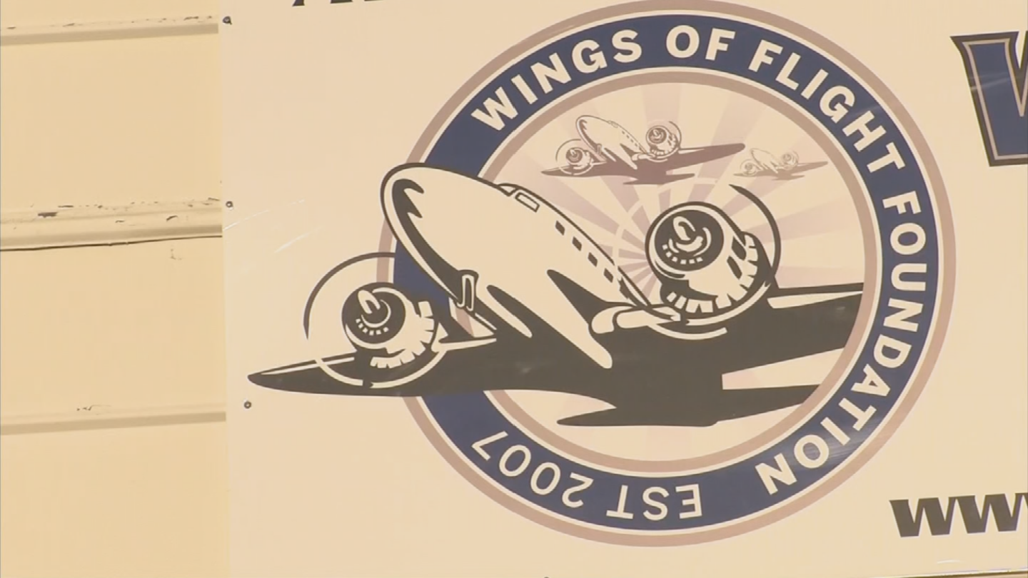 Wings of Flight members are trying to negotiate to have their lease renewed but understand that it might be an uphill battle. (Source: 3TV/CBS 5)